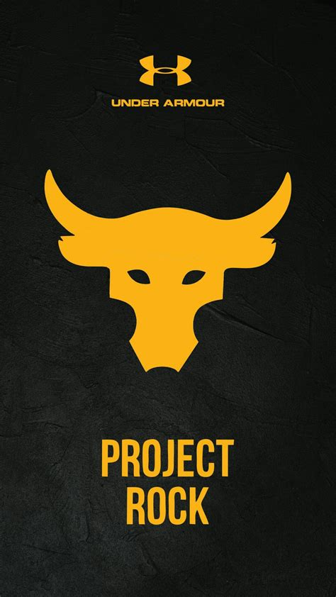 armour projects rock wallpaper smartphone logo
