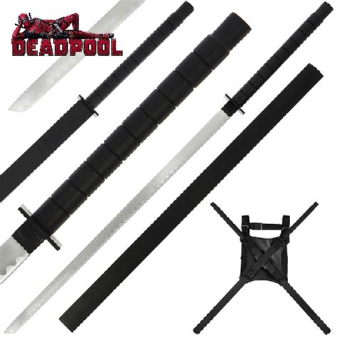Deadpool Style Double Sword Set Knifewarehouse