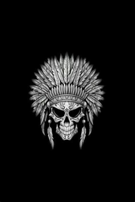 Neat Indian Skull design for a tattoo   Les Tattoos   Indian skull, Indian skull tattoos, Sugar