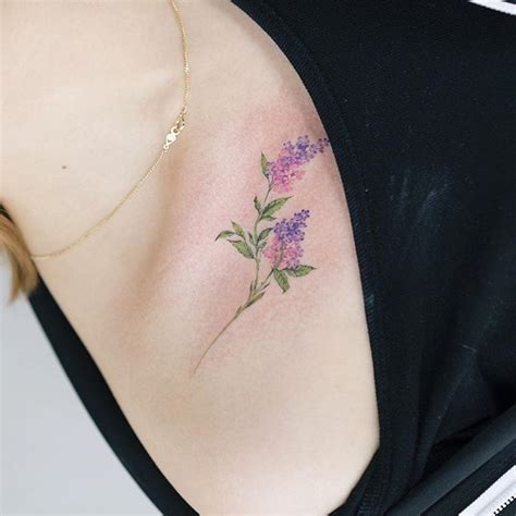 lilac tattoos designs ideas  meaning tattoos