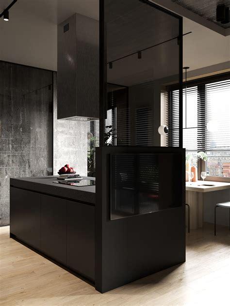small apartment layouts  deliciously dark decor ideas