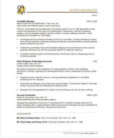 to be wedding planner event planner free resume sles blue sky resumes
