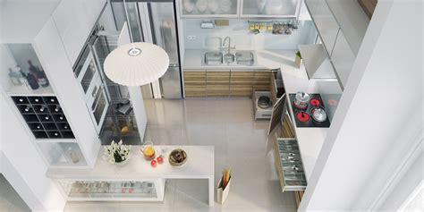 Chic Contemporary Spaces Rendered By Anh Nguyen : Chic Contemporary Spaces Rendered By Anh Nguyen