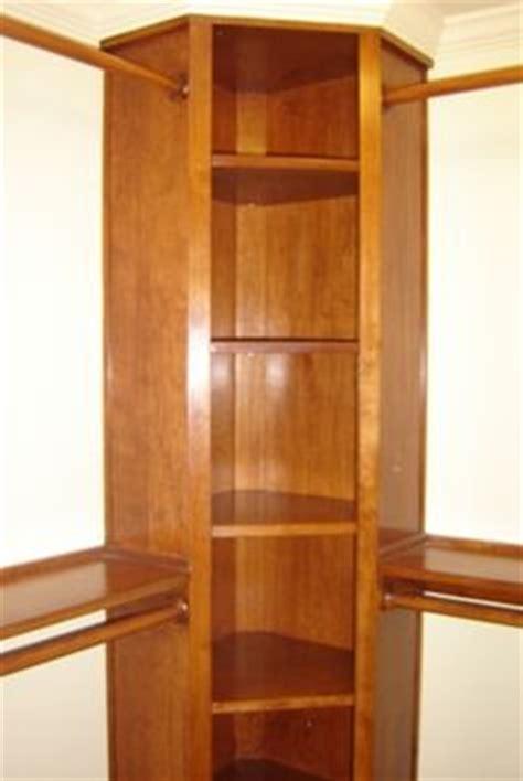 corner closet custom cherry corner unit in walk in closet