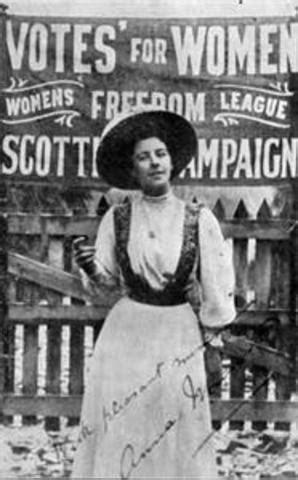 womens suffrage timeline timetoast timelines