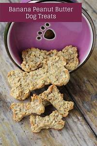 peanut butter banana dog treats recipe dog vills With peanut butter dog chews