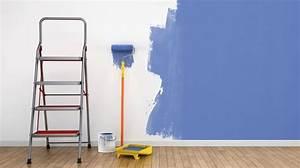 Peinture Mur Chambre : peinture chambre 2 couleurs cool agrable conseil peinture ~ Voncanada.com Idées de Décoration