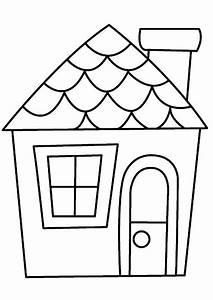 coloriages divers maison 01 pinterest With dessin de maison facile 4 pate 224 modeler maison facile