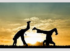 Strong's Males Dancing Capoeira ELSOAR