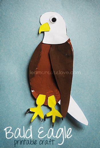 craft  children printable bald eagle craft  site