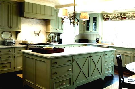 green kitchen cabinets  eco friendly homeowners