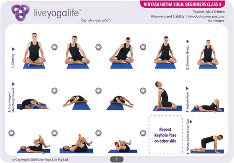 15 chair yoga sequence printable different types