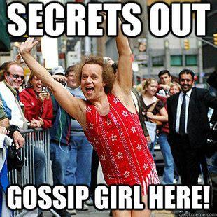 Gossip Meme - gossip girl memes quickmeme