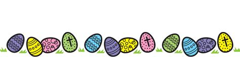 Easter Religious Clip Egg Clipart Easter Banner Pencil And In Color Egg