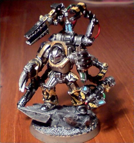 chaos chaos space marines conversion iron warriors techmarine terminator armor warsmith