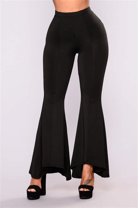 kassiana flare pants black