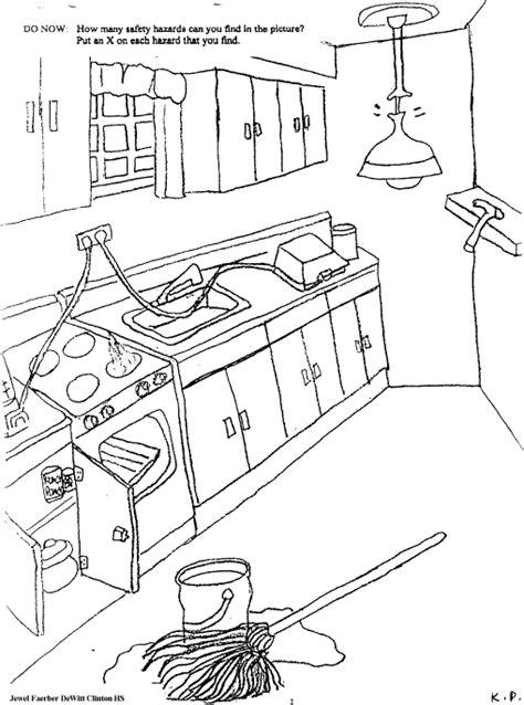 all worksheets 187 kitchen safety worksheets printable