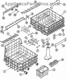 Parts For Maytag Mdb9100aww  Track  U0026 Rack Assembly Parts