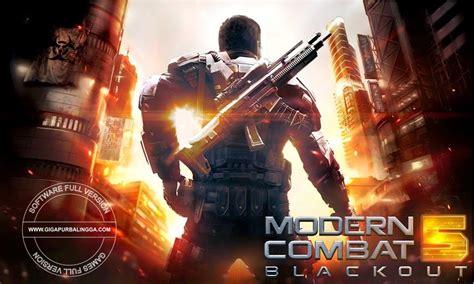 modern combat 5 blackout v1 4 0k mod apk plus obb data