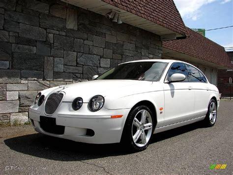 2006 Jaguar S Type 3 0 by White Onyx 2006 Jaguar S Type R Exterior Photo 11623953
