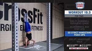 Crossfit Open 19 3 Full Workout Announced And Details  U2013 Fitness Volt