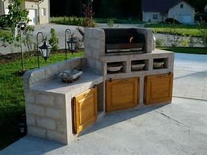 Barbecue En Dur : barbecue el matos constructions et passions ~ Melissatoandfro.com Idées de Décoration