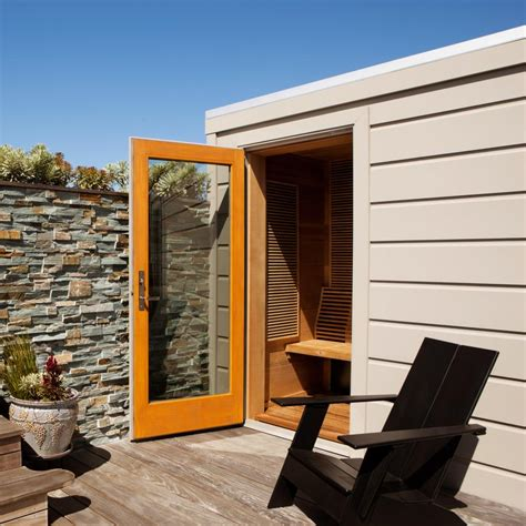 Backyard Sauna by Outdoor Saunas Gallery Hgtv