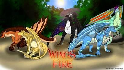 Wings Fire Rainwings Background Wallpapers Riddell Jannet