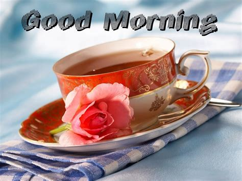 Good Morning Wishes With Tea Pictures, Images  Page 3