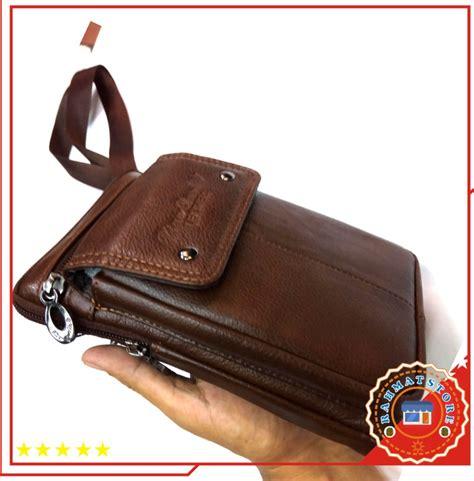jual selempang kulit asli dompet hp sarung hp tas kecil