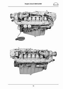 Man Marine Diesel Engine D 2840 Le 403 Service Repair Manual