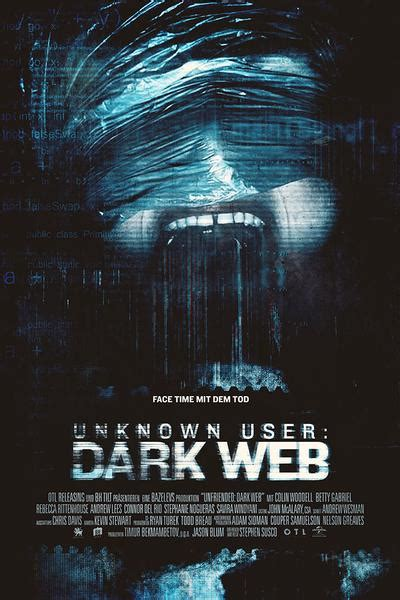 unfriended dark web film poster  hot posters