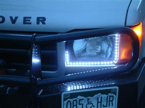 led strip running lights land rover forums land