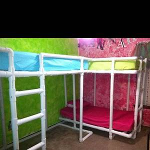 canopy bed from pvc pipe With diy canopy bed from pvc pipes