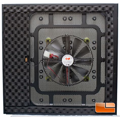 pc side panel fan in win ironclad atx full tower pc case review legit