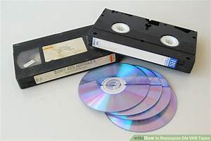 6 Ways to Repurpose Old VHS Tapes - wikiHow