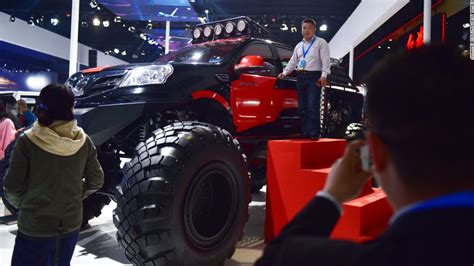 next monster truck show volvo launches china made car in united states cnn