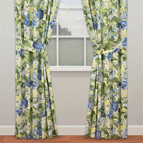 Floral Flourish Window Treatment by Waverly
