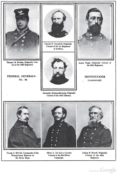 civil war blog armies  leaders