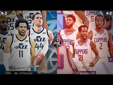 The jazz also can turn to jordan clarkson, recently chosen the nba's top reserve after a season in which he averaged 18.4 points. Jazz vs Clippers - Full Game Highlights! 2019 NBA Season ...
