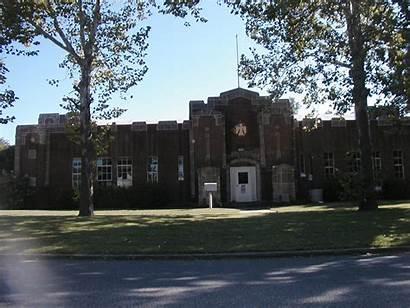 Marlow Oklahoma Armory Wpa Same Rear Building