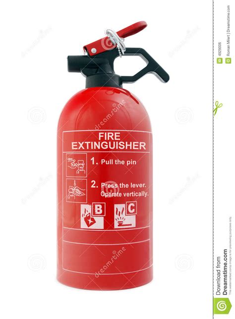 car fire extinguisher stock photo image  arson flame