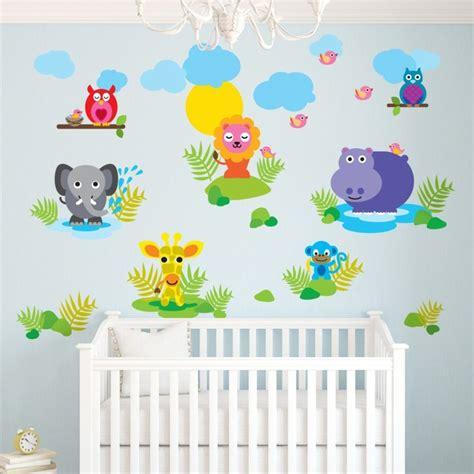 appliques chambre enfant stickers muraux pour d 233 co de chambre enfant en 49 photos