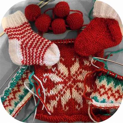 Knitting Christmas Knit Unique Scarves Designs Gifts