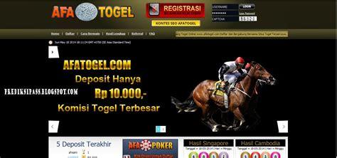 Afatogel.com Bandar Terbesar Situs Togel Online Terpercaya ...