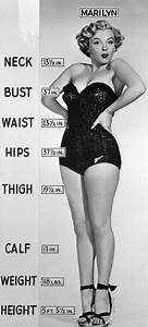Marilyn Monroe body size. | Random | Pinterest | Beautiful ...