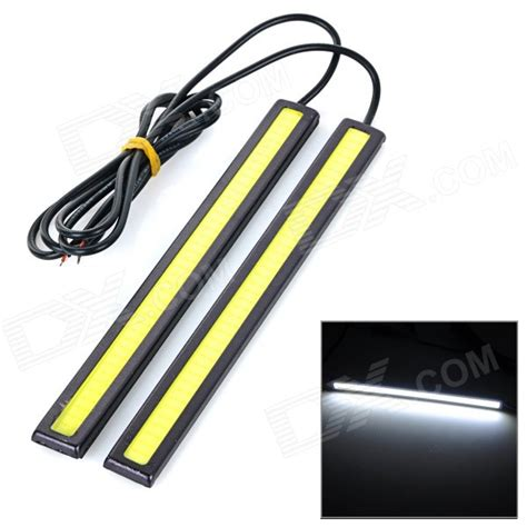 jrled 6w 200lm cob cold white waterproof car running light