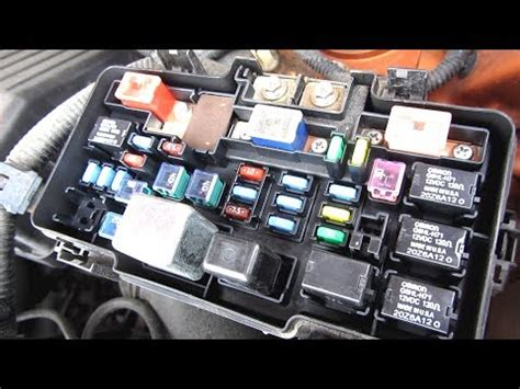 In Fuse Box by Honda Element Fuse Box Description