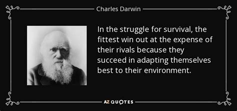 charles darwin quote   struggle  survival
