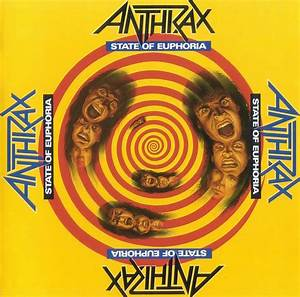 Copertina cd Anthrax - State Of Euphoria - Front, cover cd ...